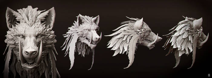 Knave High Poly