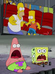 SpongeBob And Patrick Reacts To Bart Wet His Pants