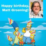 Happy Birthday, Matt Groening!