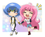 AT: Chibi Mia x Damian