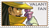 -Valant Fan Stamp 2- by Zoroko