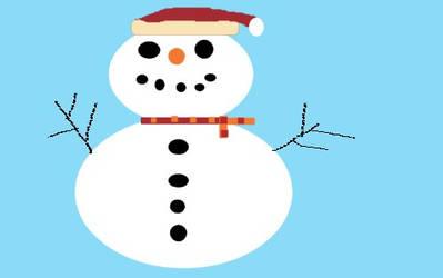 Snowman by notwritten