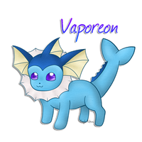 Vaporeon by 1nfinitize