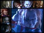 Curse of Chucky Collage