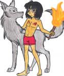 Wolf and Mowgli
