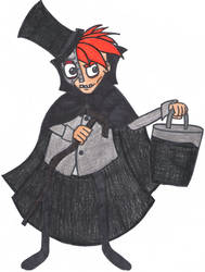 N. Gin the Hatbox Ghost by SSL13