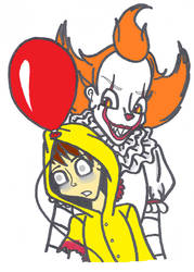 Pennywise and Georgie by SSL13