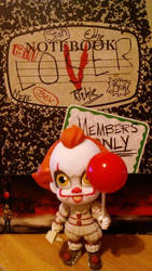 IT Journal and Pennywise Figure by SSL13