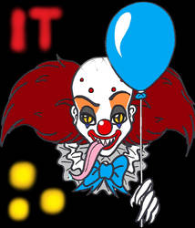 Book Pennywise - Wanna Balloon? by SSL13