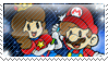 .:Mario and Princess Clo Stamp:. by CloTheMarioLover