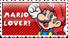 .:Mario Stamp:. by ThePinkMarioPrincess