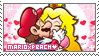 .~MarioxPeach Stamp~.