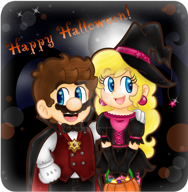 .:Trick or treat!:. by CloTheMarioLover