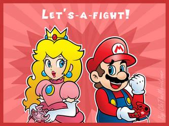 .:Smash couple:. by ThePinkMarioPrincess