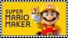 .~Super Mario Maker Stamp~. by PeachyPinkPrincess