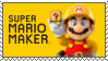 .:Super Mario Maker Stamp:. by ThePinkMarioPrincess