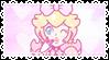 .~Pastel Pink Peachy stamp~.