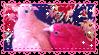.:Pink pigeons stamp:. by ThePinkMarioPrincess