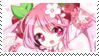 .:Sakura Miku stamp:. by PeachyPinkPrincess