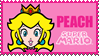 .~Peachy stamp IV~. by ThePinkMarioPrincess