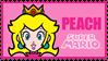 .:Peachy stamp IV:. by ThePinkMarioPrincess