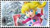 .:Winter Peach stamp:. by ThePinkMarioPrincess