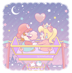 .:At the star festival:. by ThePinkMarioPrincess