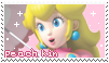 .~Princess Peach (kin stamp)~. by ThePinkMarioPrincess