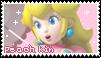 .:Princess Peach (kin stamp):. by ThePinkMarioPrincess