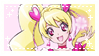 .~Cure Peach stamp~. by ThePinkMarioPrincess
