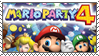 .~Mario Party 4 stamp~. by ThePinkMarioPrincess