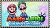 .~Mario and Luigi: Dream Team Stamp~. by PeachyPinkPrincess