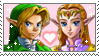 .~Ocarina of Time Zelink stamp~. by ThePinkMarioPrincess