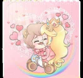 .~Cuddles~. by PeachyPinkPrincess