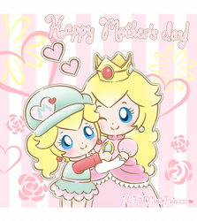 .~Happy mother's day!~. by PeachyPinkPrincess
