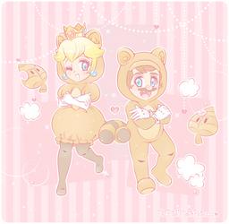 .~The Adorable Tanooki Pair~.