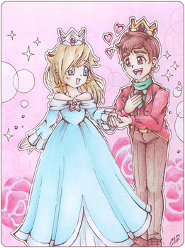 .~Commission: Rosalina and Michael~.