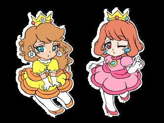 Their favorite princesses by PeachyPinkPrincess