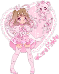 .~Cure Pink! (Precure persona)~. by PeachyPinkPrincess