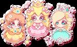 .+* The cutest princesses *+.