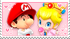 .+ Dr. Baby Mario x Dr. Baby Peach | Stamp +.
