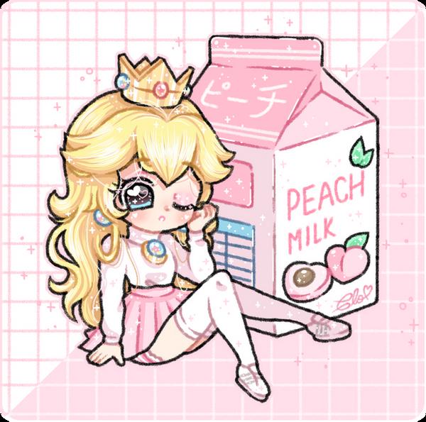 Princess Peach Milk