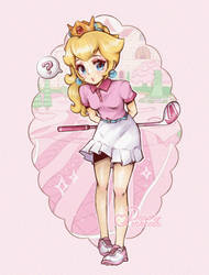 .+* Dear Mario... want to play some golf? *+.