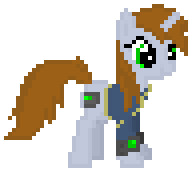 Custom Sprite #147: Littlepip{Fallout Equestria} by YellowNinja123