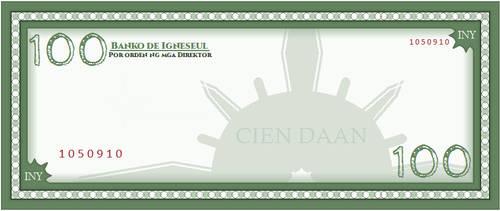 Igneseul - 100 Inyelos Bill