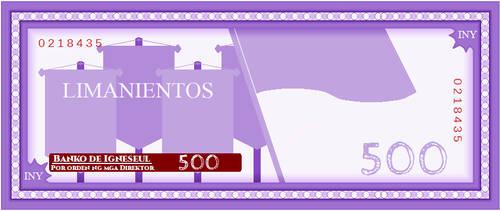 Igneseul - 500 Inyelos Bill
