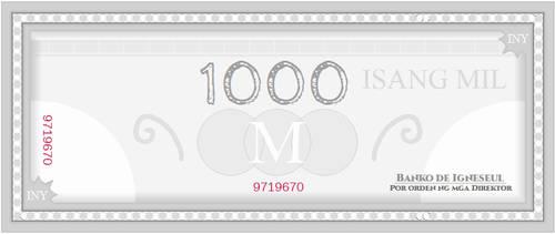 Igneseul - 1000 Inyelos Bill