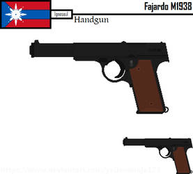 Army of the Homeland Handguns - Fajardo M1938