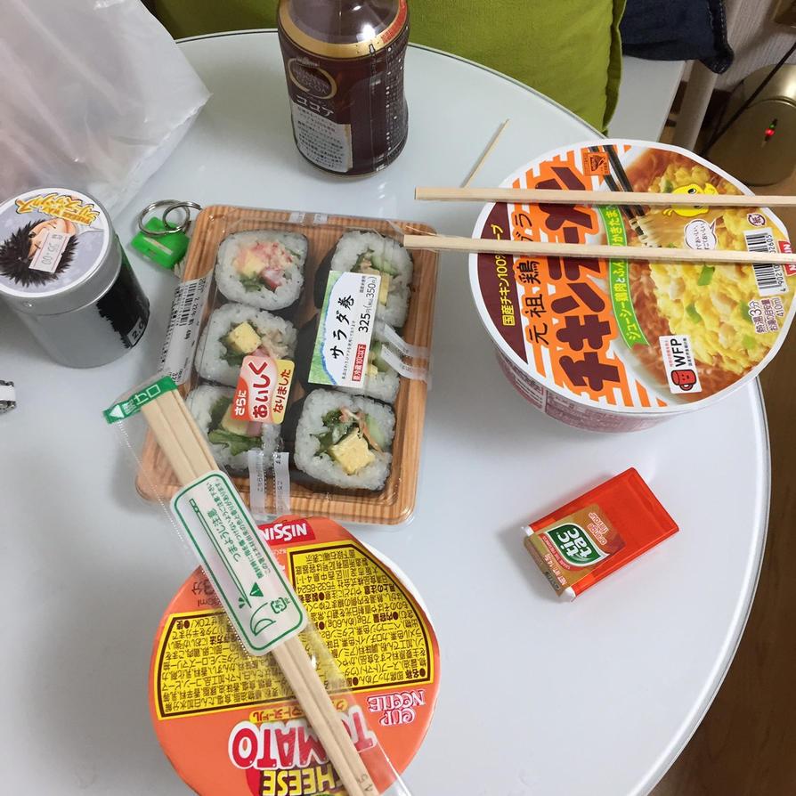 Random Japanese meal ) by Deviljackies