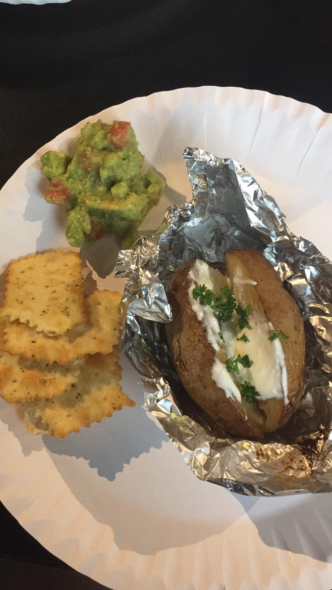 baked potato~ by Deviljackies